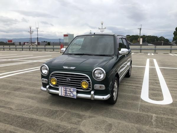 ミラジーノ 660 ミニライトスペシャル(グリーン) キーレスアルミ